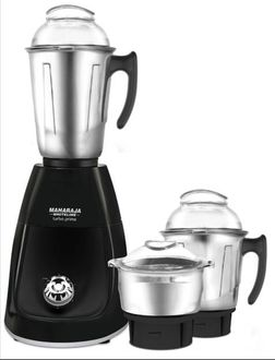 Maharaja Whiteline Turbo prime Deluxe 750W Mixer Grinder (3 Jars) Price in India