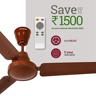Crompton Energion High Speed 3 Blade Ceiling Fan with Remote Price in India