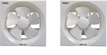 Usha Crisp Air 150 mm 5 Blade Exhaust Fan (Pack of 2) Price in India