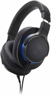 Audio-Technica ATH-MSR7b Over Ear Wired Headset Price in India