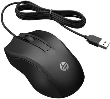 HP 100 Wired Optical Mouse Price in India