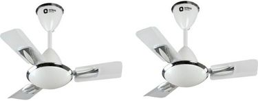 Orient Electric Gratia 3 Blade (600mm) Ceiling Fan (pack of 2) Price in India