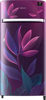 Samsung RR21T2G2W9R 198 L 5 Star Inverter Direct Cool Single Door Refrigerator (Paradise Purple) Price in India