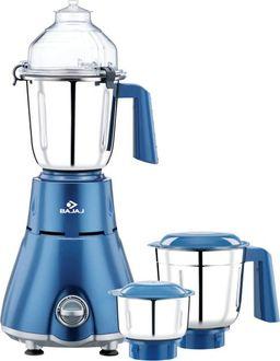 Bajaj Beryl 750 Watts Mixer Grinder (3 Jars) Price in India