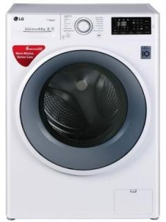 LG 6.5 Kg Fully Automatic Front Load Washing Machine (FHT1065SNW) Price in India