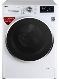 LG 8 Kg Fully Automatic Front Load Washing Machine (FHT1408SWW) Price in India