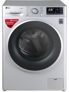 LG 8 Kg Fully Automatic Front Load Washing Machine (FHT1208SWL) Price in India