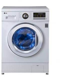 LG 6.5 Kg Fully Automatic Front Load Washing Machine (F1296WDL23) Price in India