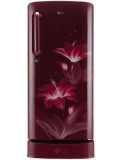 LG GL-D201ARGX 190 L 4 Star Inverter Direct Cool Single Door Refrigerator Price in India