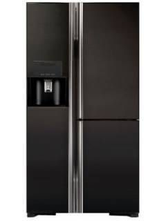 Hitachi R-M700AGPND4X 651 L 3 Star Inverter Frost Free Side By Side Door Refrigerator Price in India