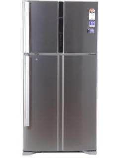 Hitachi R-V660PND3KX 601 L 4 Star Frost Free Double Door Refrigerator Price in India