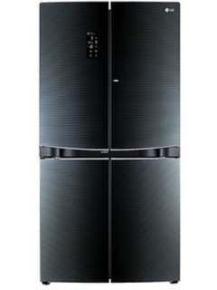 LG GR-D34FBGHL 1001 L 3 Star Frost Free Side By Side Door Refrigerator Price in India