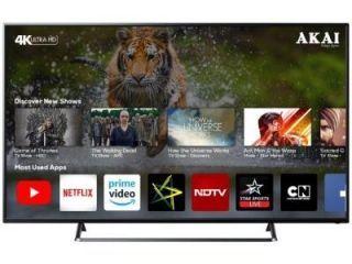 Akai AKLT65U-DS73K 65 inch UHD Smart LED TV Price in India