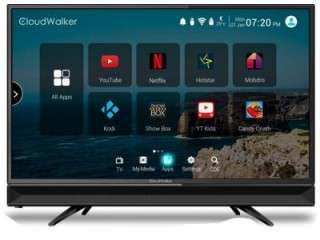 Cloudwalker CLOUD TV 24AH 24 inch HD ready Smart LED TV Price in India