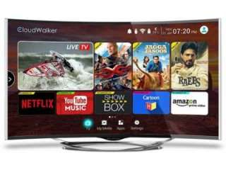 Cloudwalker CLOUD TV 55SU-C 55 inch UHD Curved Smart LED TV Price in India