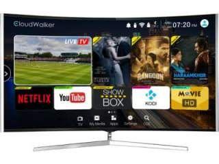 Cloudwalker CLOUD TV 65SU-C 65 inch UHD Curved Smart LED TV Price in India