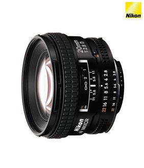 Nikon AF Nikkor 20mm f/2.8D Lens Price in India