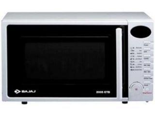 Bajaj 2005 ETB 20 L Grill Microwave Oven Price in India