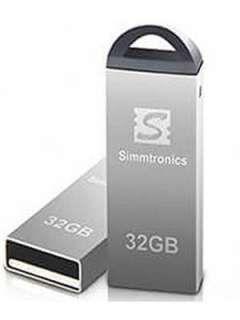 Simmtronics Metal 32GB USB 2.0 Pen Drive Price in India