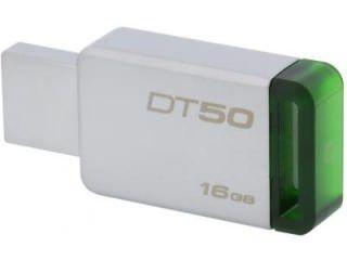 Kingston DataTraveler 50 (DT50) 16GB USB 3.0 Pen Drive Price in India