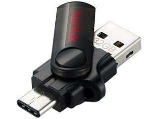 SanDisk Type-C Dual 32GB USB 3.0 Pen Drive Price in India
