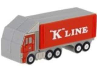 Microware K-Line Truck Shape 4GB USB 2.0 Pen Drive Price in India