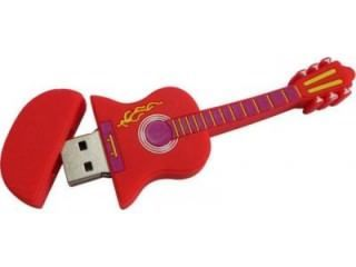 Microware Electric Guitar Shape 8GB USB 2.0 Pen Drive Price in India