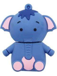 Microware Appu Elephant Shape 8GB USB 2.0 Pen Drive Price in India