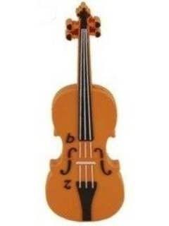 Microware Violin Shape 4GB USB 2.0 Pen Drive Price in India