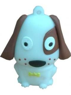 Microware Dog Puppy Small Shape 4GB USB 2.0 Pen Drive Price in India