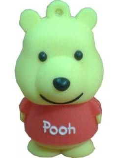 Microware Pooh New Shape 4GB USB 2.0 Pen Drive Price in India