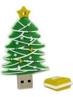 Microware Christmas Tree Shape 4GB USB 2.0 Pen Drive Price in India