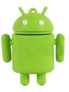 Microware Android Shape Designer 4GB USB 2.0 Pen Drive Price in India