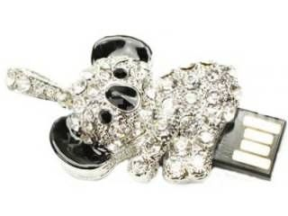 Microware Panda Shape Jewellery 4GB USB 2.0 Pen Drive Price in India