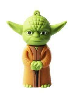 Microware Star Wars Yoda Space Alien Shape 8GB USB 2.0 Pen Drive Price in India