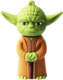 Microware Star Wars Yoda Space Alien Shape 16GB USB 2.0 Pen Drive Price in India