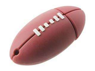 Microware Rugby Football Shape 8GB USB 2.0 Pen Drive Price in India