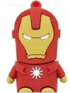 Microware Iron Man Shape 4GB USB 2.0 Pen Drive Price in India