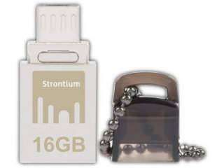 Strontium Nitro SR16GSBOTG1 16GB 16GB USB 3.0 Pen Drive Price in India