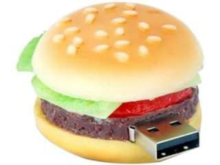 Microware Burger Shape 8GB USB 2.0 Pen Drive Price in India
