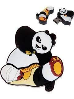 Microware Kungfu Panda Shape 4GB USB 2.0 Pen Drive Price in India