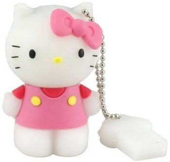 Microware Hello Kitty Shape 8GB USB 2.0 Pen Drive Price in India