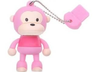 Microware Monkey Shape 4GB USB 2.0 Pen Drive Price in India