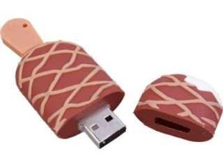 Microware Chocolate Ice Cream Shape 16GB USB 2.0 Pen Drive Price in India