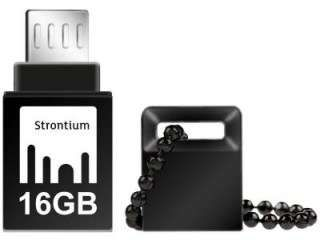 Strontium NITRO PLUS SR16GBBOTG2Z 16GB USB 3.0 Pen Drive Price in India