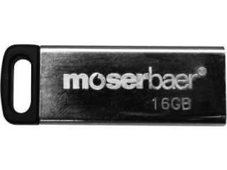 moserbaer Atom 16GB USB 2.0 Pen Drive Price in India