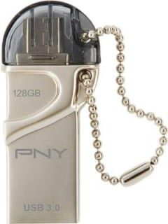 PNY DUO-LINK OTG 128GB USB 3.0 Pen Drive Price in India