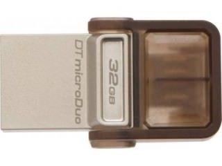 Kingston Data Traveler MicroDuo DTDUO 32GB USB 2.0 Pen Drive Price in India