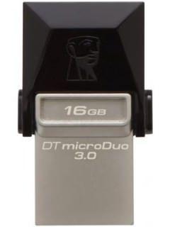 Kingston Data Traveler MicroDuo DTDUO3 16GB USB 3.0 Pen Drive Price in India