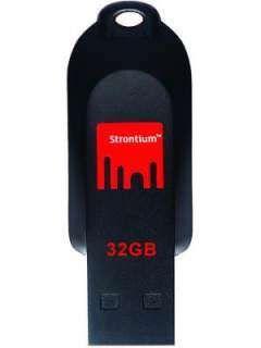 Strontium POLLEX SR32GRD 32GB USB 2.0 Pen Drive Price in India
